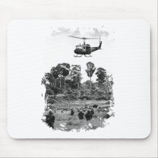 Vietnam Huey Landing Mouse Pad