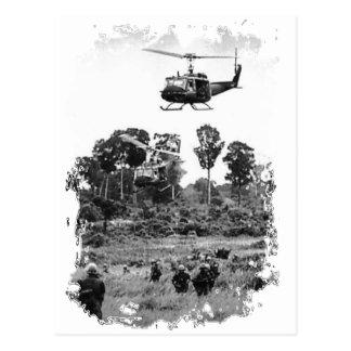 Vietnam Huey Landing Post Cards
