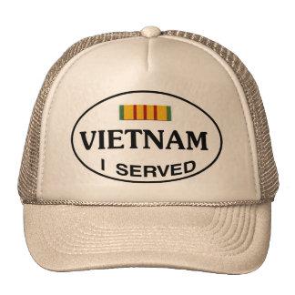 VIETNAM I SERVED TRUCKER HAT