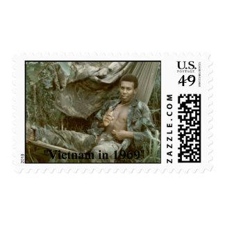 """""""Vietnam in 1969"""" Postage Stamp"""