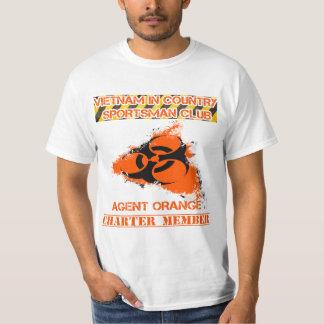 Vietnam in country sportsman club-Agent orange T-Shirt