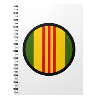 Vietnam Insignia Spiral Notebook