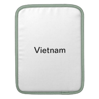 Vietnam iPad sleeve!