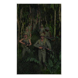 Vietnam: Jungle Patrol Poster