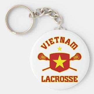 Vietnam Basic Round Button Keychain