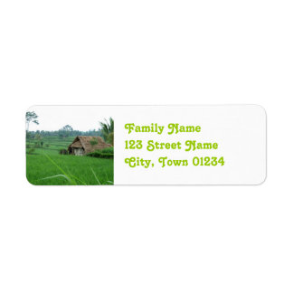 Vietnam Landscape Return Address Label