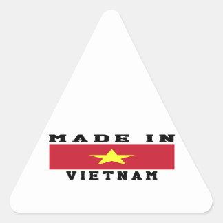 Vietnam Made In Designs Triangle Sticker