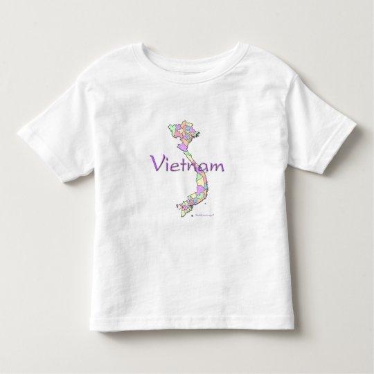 Vietnam Map Toddler T-shirt
