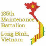 Vietnam Map Unit Embroidered Shirt