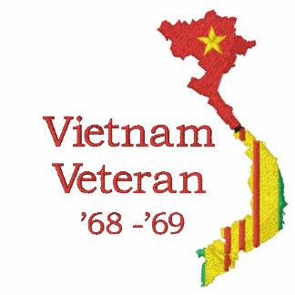 Vietnam Map - Vietnam Veteran CMB Shirt