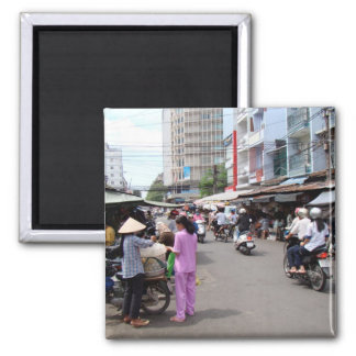 Vietnam Market 2 Inch Square Magnet