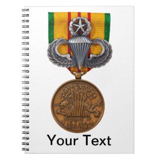 Vietnam Master Airborne Spiral Notebook