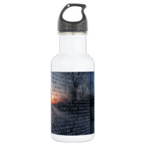 Vietnam Memorial Dawn Stainless Steel Water Bottle