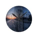 Vietnam Memorial Dawn Wall Clock