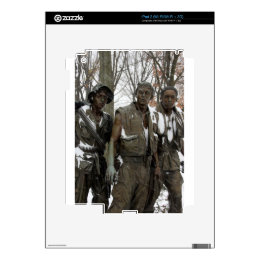 Vietnam Memorial Decal For The iPad 2