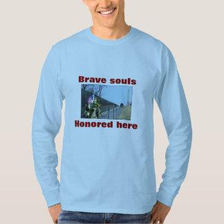 Vietnam Memorial shirt Brave souls honored here