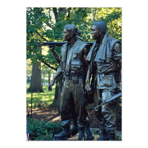 Vietnam Memorial, Washington, D.C., USA Custom Invitations