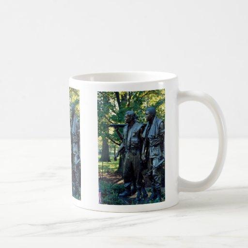 Vietnam Memorial, Washington, D.C., USA Classic White Coffee Mug