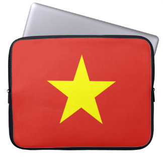 Vietnam National World Flag Computer Sleeve