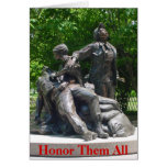 Vietnam Nurses Memorial Greeting Card
