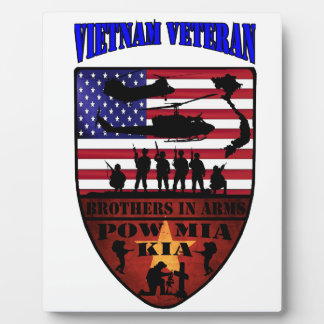 Vietnam of veteran plaque