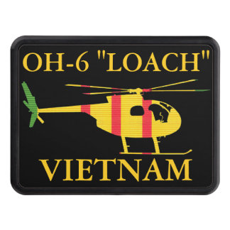 """Vietnam OH-6 """"LOACH"""" Hitch Cover"""