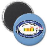 Vietnam Radar Sites Veteran Insignia-2 Fridge Magnets