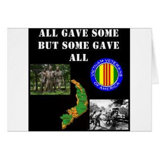 Vietnam Remembrance Greeting Card