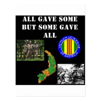 Vietnam Remembrance Postcards