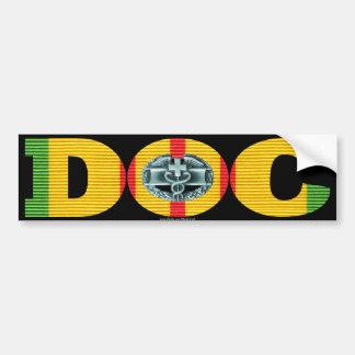 Vietnam Ribbon Doc - CMB Bumper Sticker