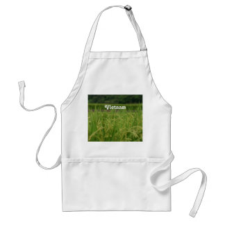 Vietnam Rice Paddy Adult Apron