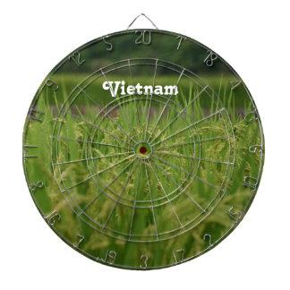 Vietnam Rice Paddy Dartboard With Darts