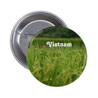 Vietnam Rice Paddy Pinback Button