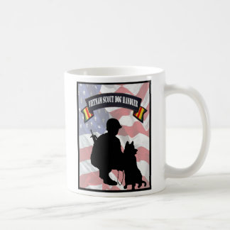Vietnam Scout Dog Handler Coffee Cup