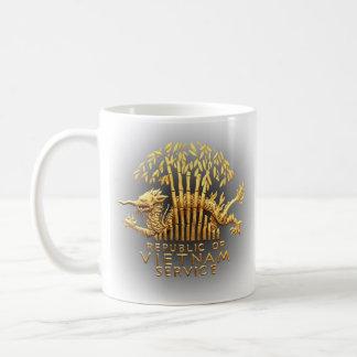 Vietnam Service Dragon Classic White Coffee Mug
