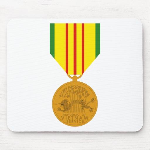 Vietnam Service Medal Mouse Pads