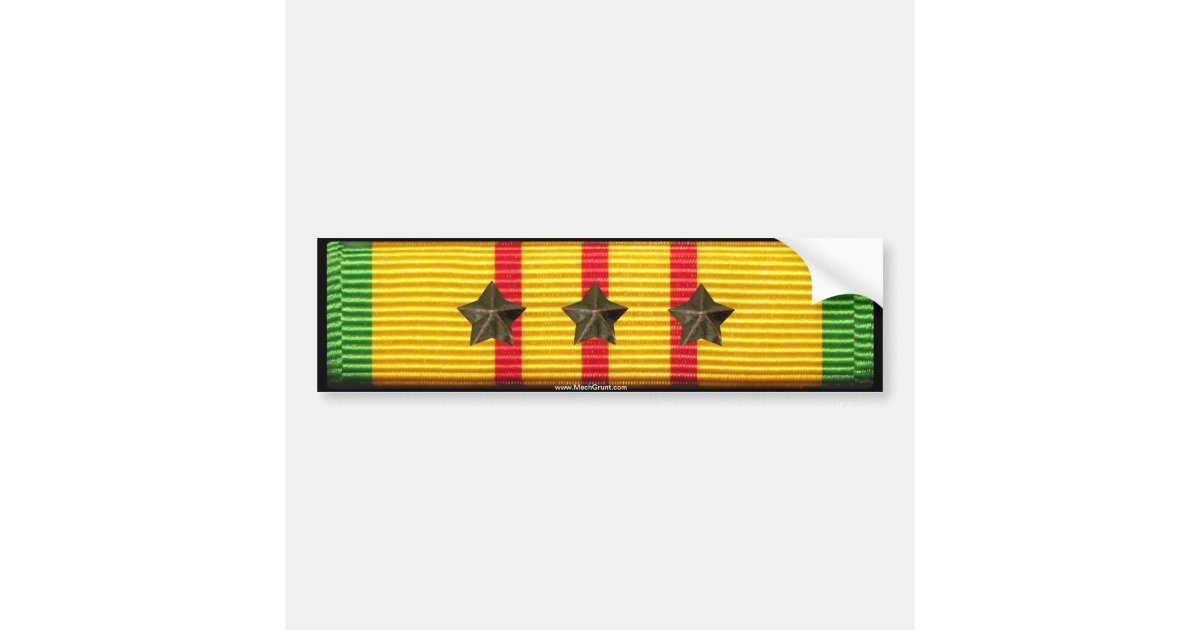Vietnam_service_ribbon_3_campaign_stars_bumper_sticker 128226649914365376 on Bat Crafts For Kids