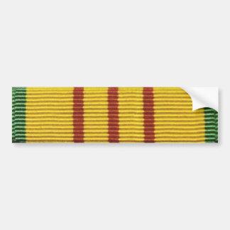 Vietnam service ribbon bumper sticker