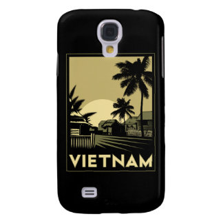 vietnam southeast asia art deco retro travel samsung s4 case