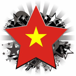 Vietnam Star Acrylic Cut Outs