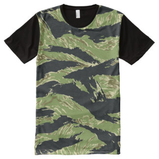 Vietnam Tiger Stripe Camo Pattern Shirt