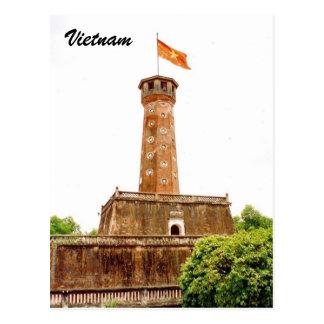 vietnam tower postcard