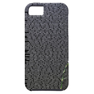 Vietnam Traveling Wall War Memorial white rose iPhone 5 Cases