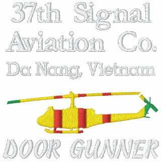 Vietnam UH-1 Huey Door Gunner Unit Polo Shirt