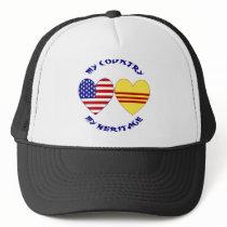 Vietnam USA Heritage Trucker Hat