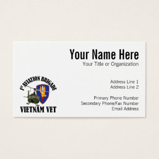 Vietnam Vet - 1st AVN BDE UH-1 Business Card