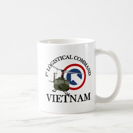 Vietnam Vet - 1st Log Cmd Coffee Mug