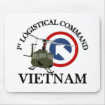 Vietnam Vet - 1st Log Cmd Mouse Pad