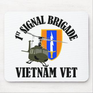 Vietnam Vet - 1st Sig Bde Mouse Pad