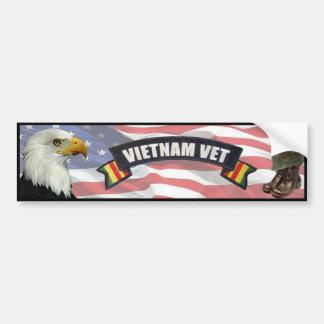 Vietnam Vet Bumper Sticker